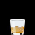 ウィスキー60ml(ダブル1杯)のイメージ